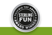Sterling Fun Medal
