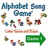 Alphabet Song Game Software