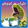 Ansel and Clair Cretaceous Dinosaurs