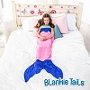 Blankie Tails Kid Size Mermaid Blanket