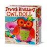 French Knitting Owl Doll Making Kit