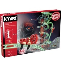 K'NEX THRILL RIDES: Web Weaver Roller Coaster Building Set