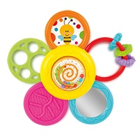 Daisy Spin Rattle 'N Teether