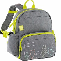 Medium Backpack - About Friends Melange Grey