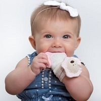 "MITTEEZ ""The Ultimate Baby Teething Mitten"""