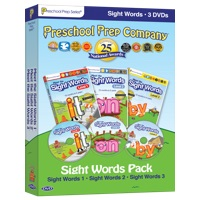 Meet the Sight Words - Levels 1, 2, and 3