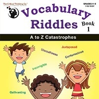 Vocabulary Riddles Book I